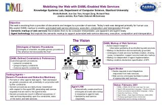 Mobilizing the Web with DAML-Enabled Web Services