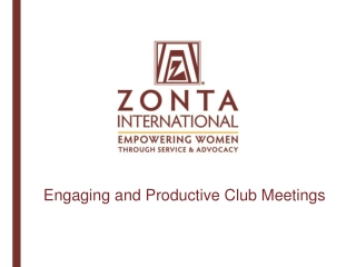 What  is our Zonta Vision