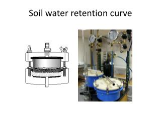 Soil water retention curve