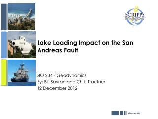 Lake Loading Impact on the San Andreas Fault