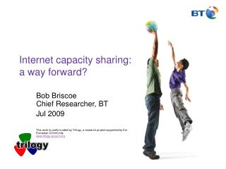 Internet capacity sharing: a way forward?