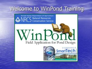 Welcome to WinPond Training