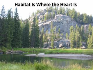 Habitat Is Where the Heart Is
