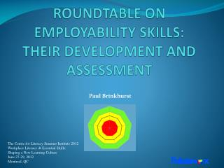 ROUNDTABLE ON EMPLOYABILITY SKILLS:  THEIR DEVELOPMENT AND  ASSESSMENT