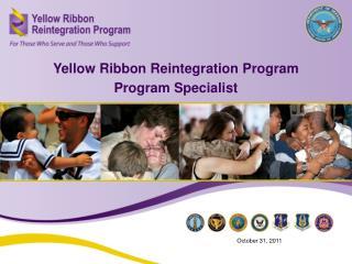Yellow Ribbon Reintegration Program Program Specialist
