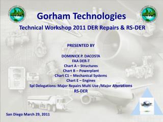 Gorham Technologies