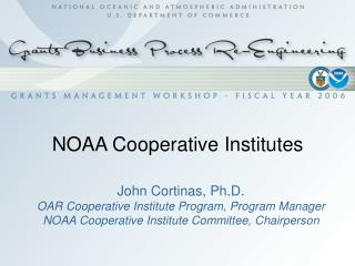 NOAA Cooperative Institutes