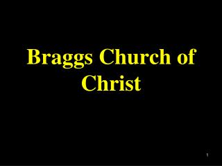 Braggs Church of Christ