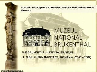 Educational program and website project at National Brukenthal Museum
