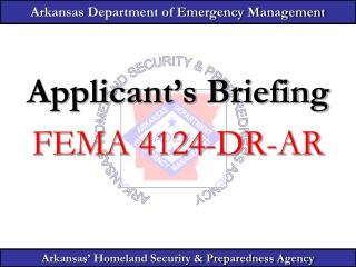 Arkansas Department of Emergency Management