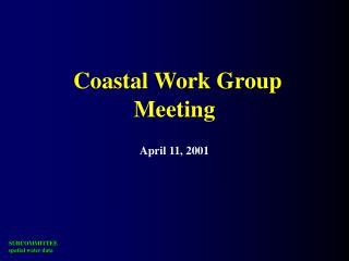 Coastal Work Group Meeting April 11, 2001