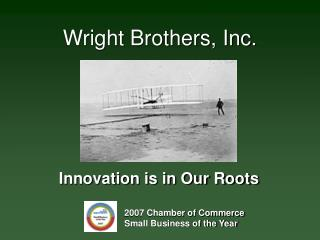 Wright Brothers, Inc.