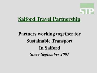 Salford Travel Partnership