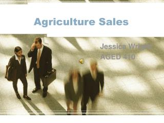Agriculture Sales