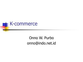 K-commerce