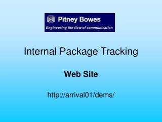 Internal Package Tracking