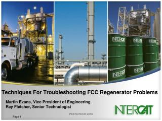 Techniques For Troubleshooting FCC Regenerator Problems