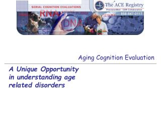 Aging Cognition Evaluation