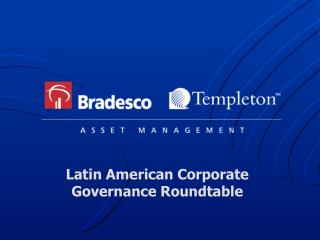 Latin American Corporate Governance Roundtable