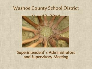 Washoe County School District May 13, 2011