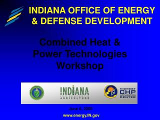 INDIANA OFFICE OF ENERGY & DEFENSE DEVELOPMENT