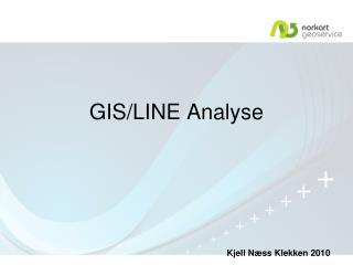 GIS/LINE Analyse