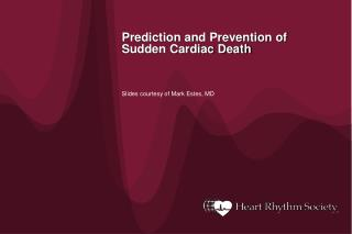 Prediction and Prevention of Sudden Cardiac Death