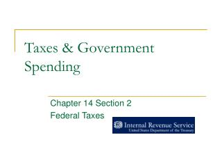 Taxes & Government Spending