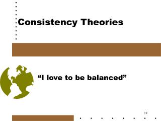 Consistency Theories