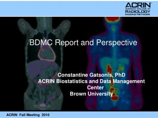 BDMC Report and Perspective