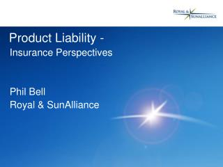 Product Liability -