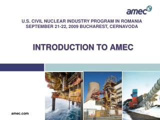 INTRODUCTION TO AMEC