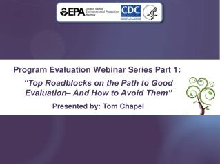 Program Evaluation Webinar Series Part 1: