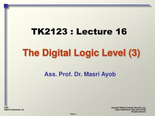 The Digital Logic Level (3)