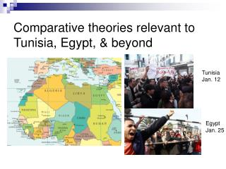 Comparative theories relevant to Tunisia, Egypt, & beyond