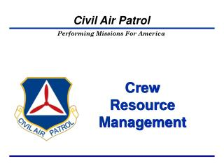 Crew  Resource Management