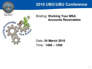 Briefing:  Working Your MSA              	Accounts Receivables