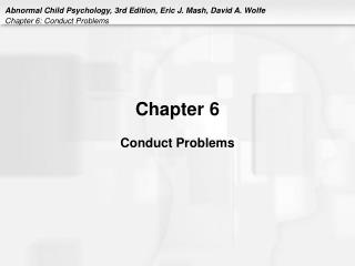 Chapter 6 Conduct Problems