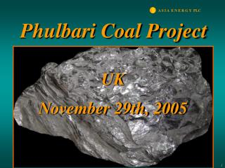 Phulbari Coal Project