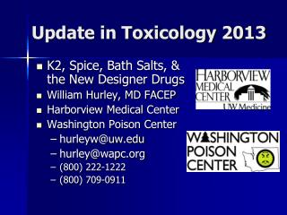 Update in Toxicology 2013