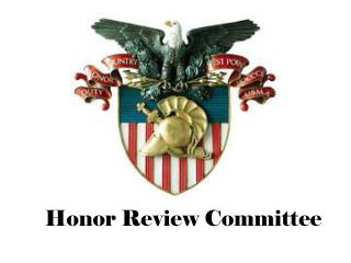 Honor Review Committee