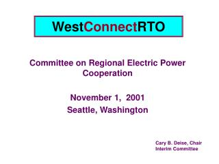 West Connect RTO