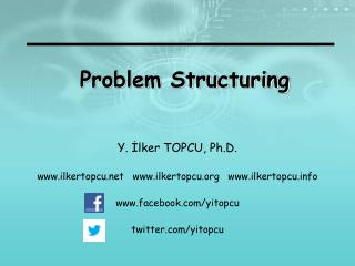 Problem  Structuring