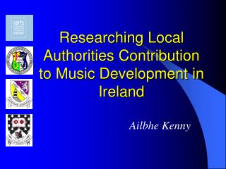 Researching Local Authorities Contribution to Music Development in Ireland