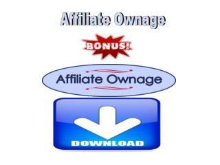 Affiliate Ownage review