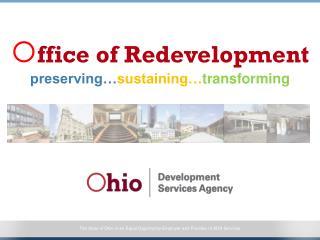  ffice  of Redevelopment