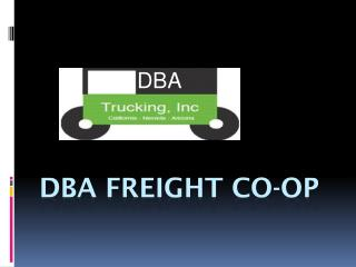 DBA Freight Co-op