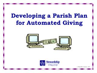 Developing a Parish Plan for Automated Giving