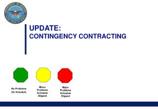 UPDATE: CONTINGENCY CONTRACTING