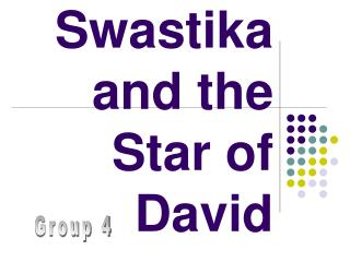 Swastika and the Star of David
